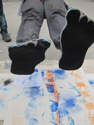 Bigfoot printing