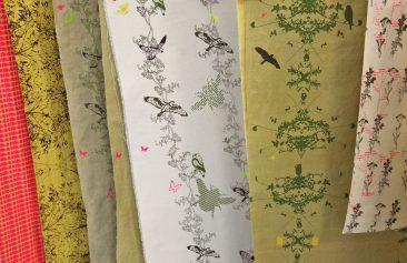 Holly Jones Textiles - raising awareness of UK species decline