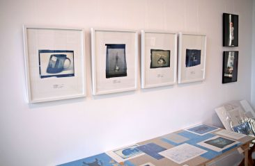 Cyanotypes of Souvenirs